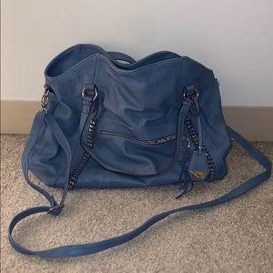 Jessica Simpson blue tote bag